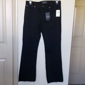 NWT Lucky Brand Black Sweet Boot Jeans Sz 12/31 A
